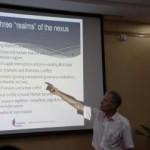 The Global Resource Nexus. Presentations in Beijing